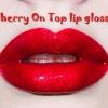 Limecrime Carousel Gloss Cherry On top Glitter lip gloss  ลิปกลอสสีแดงอมชมพูเจลลี่ พร้อมกับกลิตเตอร์สีรุ้ง น่ารักมากๆ