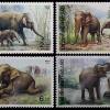 แสตมป์ชุด ช้างไทย ปี 2534 (ยังไม่ใช้)
