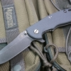"RHK XM18 3.5"" Skinner Battle Black Blade Gray G-10"