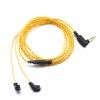 ขาย สายหูฟังชุบเงินถักสำหรับ KZ ZS5 / KZ ZST / ED12 สีทอง