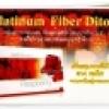 Platinum Fiber Ditox! Raspberry 100% Natural
