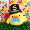 San-x 5th Anniversary Rilakkuma Kiiroitori chicken ตุ๊กตาไก่โทริ รีแลคคุมะ รุ่นฉลองครบรอบ 5 ปี