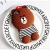 เคสหมีบราวน์3D ไอโฟน (7plus) 5.5 นื้ว