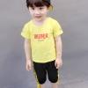 ชุดเซต BIEBER สีเหลือง แพ็ค 4 ชุด [size 6m-1y-2y-3y]