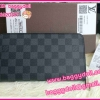 Louis Vuitton Damier Graphite Zippy Compact Wallet กระเป๋าสตางค์ใบยาวแบบออกาไนซ์ ** เกรดท๊อปมิลเลอร์ ** (Hi-End)