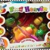 ชุดผักผลไม้หั่นได้ แพคในกล่อง คุณภาพดี 1 ชุดมี 6 ชนิดพร้อมเขียงและมีด