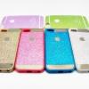 เคสนิ่ม Glitter โลโก้ apple ไอโฟน 5/5s