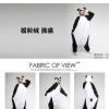 ชุดนอนลายหมีแพนด้า+รองเท้าการ์ตูน