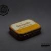 กล่องเหล็ก Strepsils รุ่นเก่า สีน้ำตาลอ่อน ปี 198x #S449