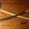 ขายดาบซามูไร คาตะนะ Katana ไว้ฝึกฟันดาบ แข็งแรงทนทาน ปลอกลายเนื้อไม้ขัดมัน