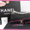 "Chanel Classic Flap Bags Lamp Leather Silver Hardware 10"" **เกรดท๊อปมิลเลอร์** (Hi-End)"
