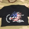 Hinderer FLAG T-SHIRT BLACK LARGE