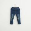 กางเกงยีนส์แต่งหมุดที่หัวเข่า [size 2y-3y]