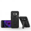 เคส Samsung S8 Plus เคสกันกระแทกแยกประกอบ 2 ชิ้น ด้านในเป็นซิลิโคนสีดำ ด้านนอกพลาสติกเคลือบเงาโลหะเมทัลลิค มีขาตั้งสามารถตั้งได้ สวยมากๆ เท่สุดๆ ราคาถูก