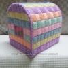 กล่องทิชชูแผ่นเฟรมสีพาสเทล ทรงตู้ไปรษณีย์ (ทำสำเร็จ)