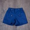กางเกงขาสั้นแต่งกระดุมสีกรมท่า [size: 1y-2y-3y-4y]