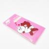 เคส tpu ซองขนมลายการ์ตูน ไอโฟน 6/6s 4.7 นิ้ว-บราวน์