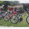 จักรยานเสือภูเขาเด็ก TRINX เกียร์ 6 สปีด โช้คหน้า เฟรมเหล็ก ล้อ 20 นิ้ว M012V dragon