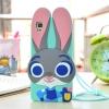 Case OPPO R7S ซิลิโคน TPU 3 มิติ กระต่ายน้อยน่ารักมากๆ ราคาถูก (ไม่รวมสายคล้อง)