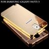 เคส Samsung Note 3 รุ่น Aluminium Hybrid Mirror Back (เคสฝาหลังเงา)