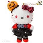 ตุ๊กตาเฮลโหลคิตตี้ ฮาโลวีน Kawaii Sanrio Hello Kitty Plush Doll soft Toy (Halloween 2016) JAPAN Limited