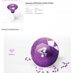 4Minute - OFFICIAL LIGHT STICK [CUBEE Official MD Goods]