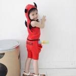 ชุดเซต Diable สีแดง [size 1y-2y-4y-5y]