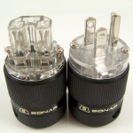 SONAR Rhodium Plated Power Plug & IEC Connector_pcs600