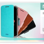 MOFI Intelligent series flip shell cover leather case for Lenovo s820