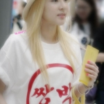 เสื้อแฟชั่น 2NE1 T-shirt (สีขาว)