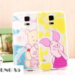 เคสซัมซุง S5 Case Samsung Galaxy S5 ซิลิโคน TPU ลายการ์ตูน มารูโก๊ะ โดเรมอน หมีพูห์ พิกเลต