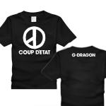 เสื้อGD COUP D'ETAT (สีดำ)