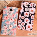 เคส Huawei Mate 7 พลาสติกเคลือบเงาสกรีนลายดอกไม้ กราฟฟิค สวยงามมากๆ ราคาถูก