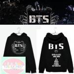 เสื้อฮูด เสื้อกันหนาว BTS สีดำ