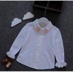 เสื้อ สีขาว แพ็ค 5ชุด ไซส์ 5-7-9-11-13