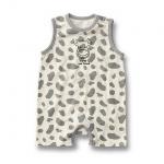 BS004 BUSHA เเสื้อผ้าเด็ก ชุดหมี บอดี้สูท แฟนซี เนื้อนิ่ม ลายวัวน้อย เหลือ Size 90/95
