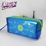 กระเป๋าดินสอ EXO สีน้ำเงิน ลายเซ็น