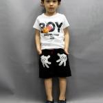 ชุดเซต BOY สีขาว [size 2y-3y-4y-5y-6y]