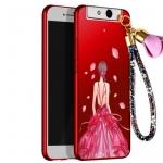 เคส OPPO N1 Mini พลาสติกลายผู้หญิงแสนสวย พร้อมที่คล้องมือ สวยมากๆ ราคาถูก