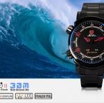 นาฬิกาข้อมือชายแฟชั่น Shank Sport watch SH066