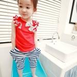 เสื้อ+กางเกง แพค 5ชุด ไซส์ 100-140