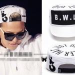 หมวก B.W.L สีขาว แบบ GD