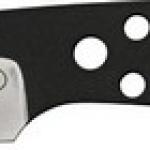 BlackJack Model 155 Neck Knife Black Finish