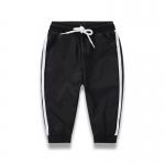 กางเกงวอร์มเด็กสีดำ [size 2y-3y-4y-5y-6y-7y]