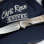 """Chris Reeve Knives Small Sebenza 21 CGG """"Gold Leaf"""""""