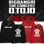 เสื้อแฟชั่นนักร้องเกาหลี เสื้อฮูดแขนยาวกันหนาว Bigbang (ระบุไซส์ สี)