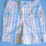 BRG082 Healthtex กางเกงสาวน้อยลายสก็อตสีฟ้า ดีไซน์กระเป๋าหน้า+หลัง น่ารักมากค่ะ เหลือ Size 12M/18M