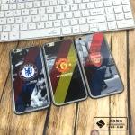 Case iPhone SE / 5s / 5 ขอบเคสโลหะ + ฟิล์มเงางามลายทีมฟตุบอล สวยงามมาก ราคาถูก