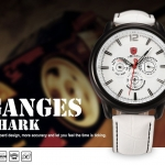 นาฬิกาข้อมือชาย Shark Sport Watch sh113
