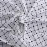 ผ้าอ้อม ลายตารางเส้นปะ แพ็ค 4 ชิ้น ไซส์ 110 * 110 ซม.